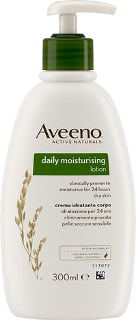 Aveeno Daily Moisturising Lotion for Dry Skin Conditions- 300ml