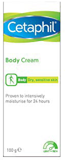 Cetaphil Moisturising Body Cream for Psoriasis and Dry Skin - 100g