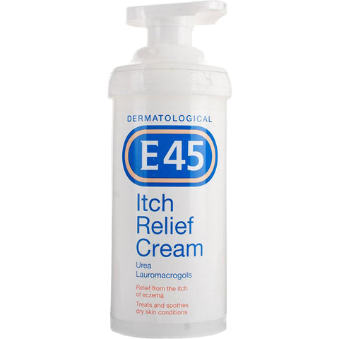 E45 Itch Relief Cream for Psoriasis and Dry Skin - 500g