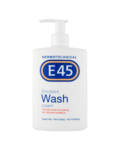 E45 Emollient Wash Cream for Dry Skin Conditions - 250ml