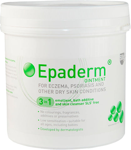 Epaderm Ointment for Psoriasis, Eczema & Dry Skin - 1kg, 500g, 125g