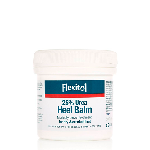 Flexitol Heel Balm - Medical proven treatment for dry & cracked feet - 500g, 112g, 56g