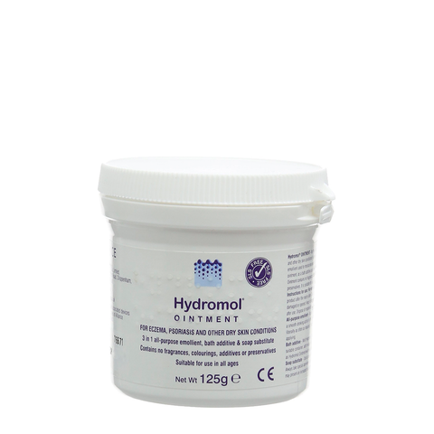 Hydromol Ointment for Eczema and Psoriasis - 1kg, 500g, 125g