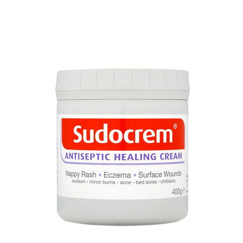 Sudocrem Antiseptic Healing Cream for Psoriasis and Nappy Rash - 400g, 125g