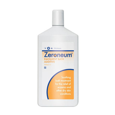 Zeroneum Emollient Bath Additive for contact dermatitis, eczema and dry skin - 500ml