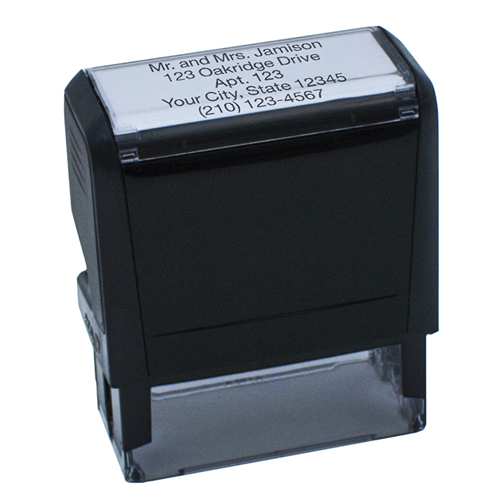 Self Inking Stamps Custom