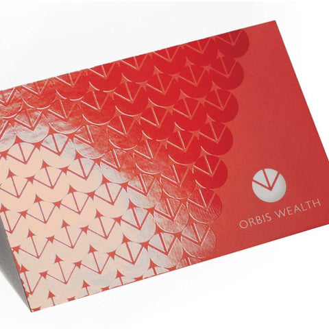 Spot UV Varnished Business Cards with a Matt Laminated Finish