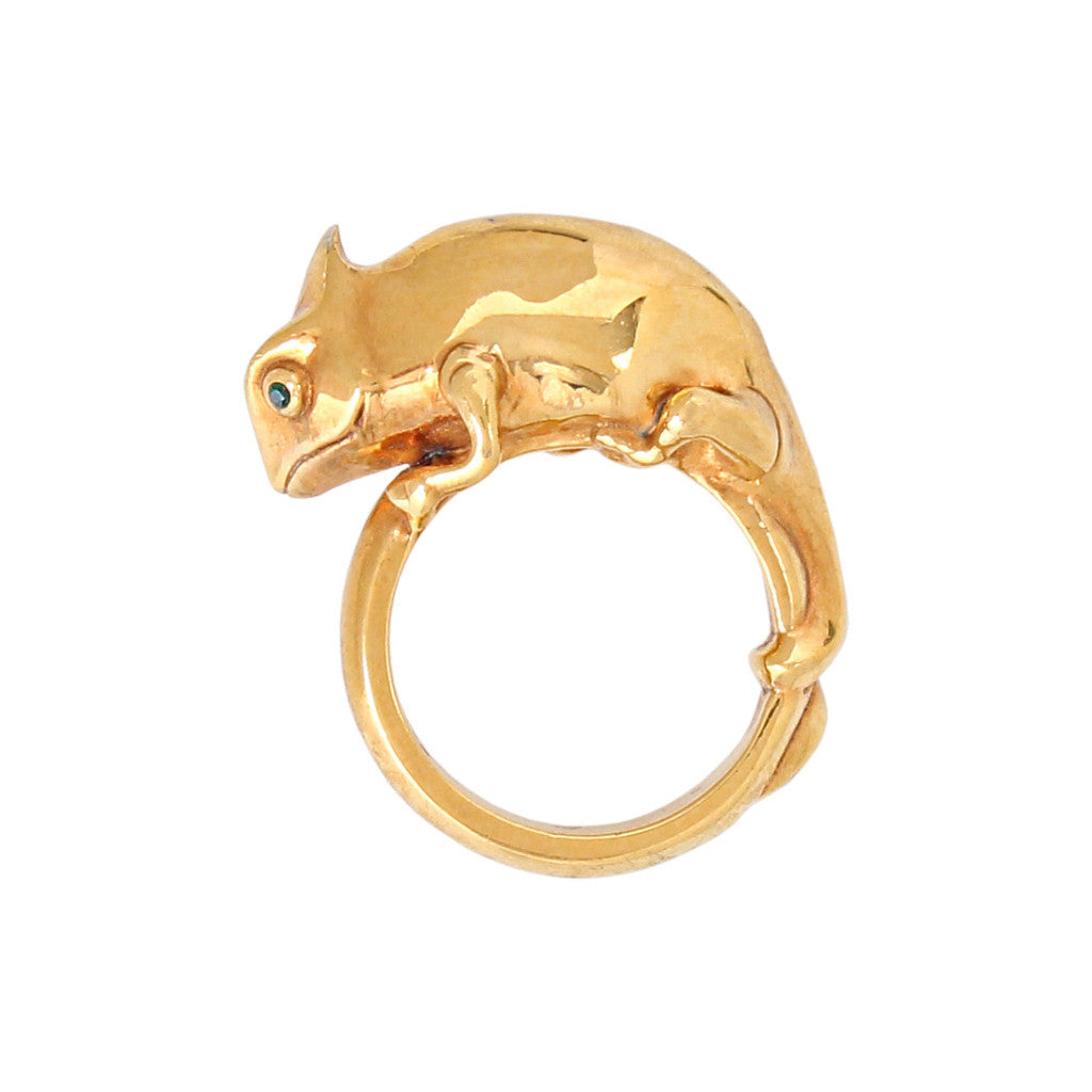 Soular Silver/Gold Plated Ring - Coup Jewelry