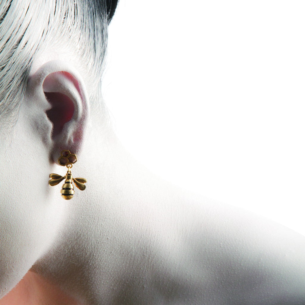 Be Silver/ Gold Plated Earrings - Coup Jewelry