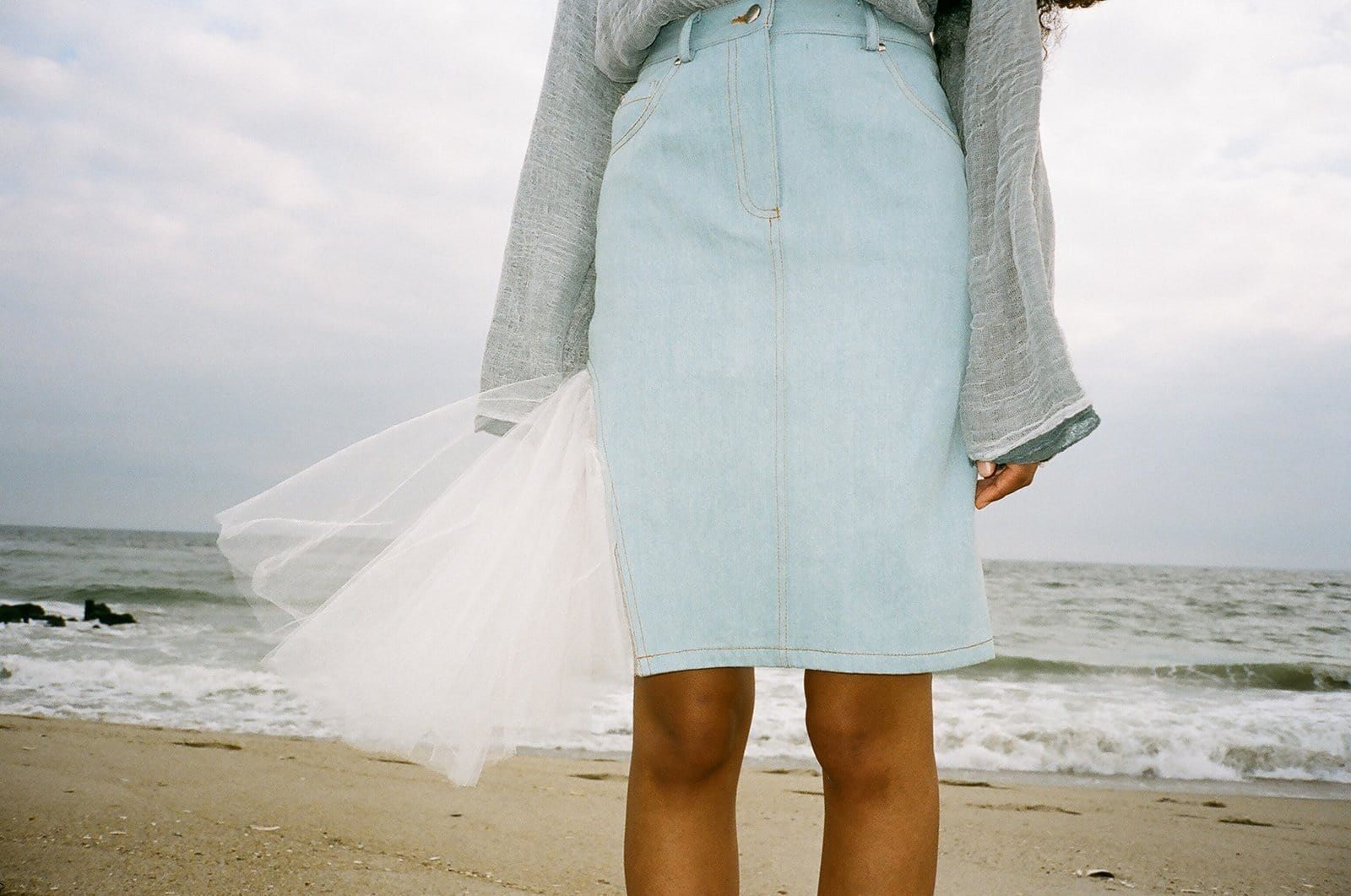 Denim Skirt - MAIMOUN