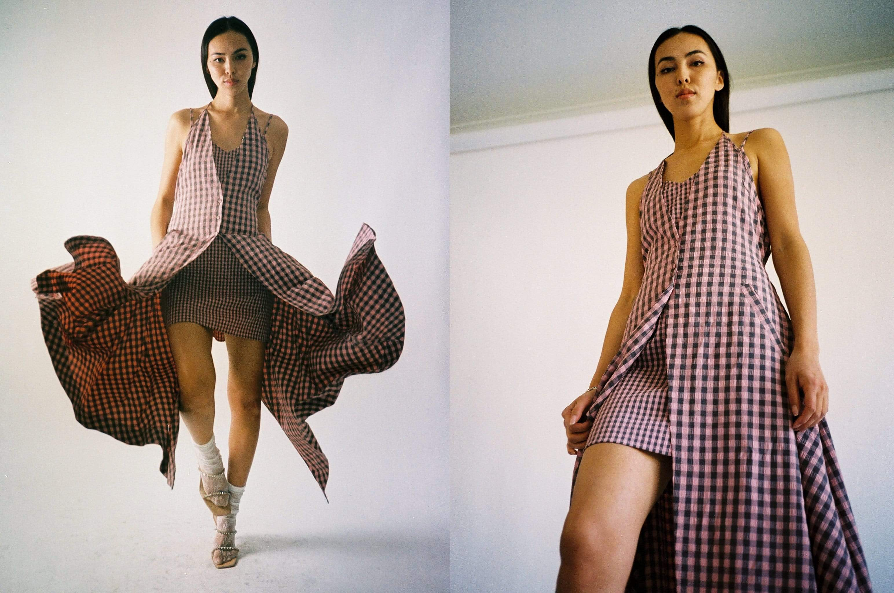Maimoun Eckhaus Latta Hibiscus Double Dress