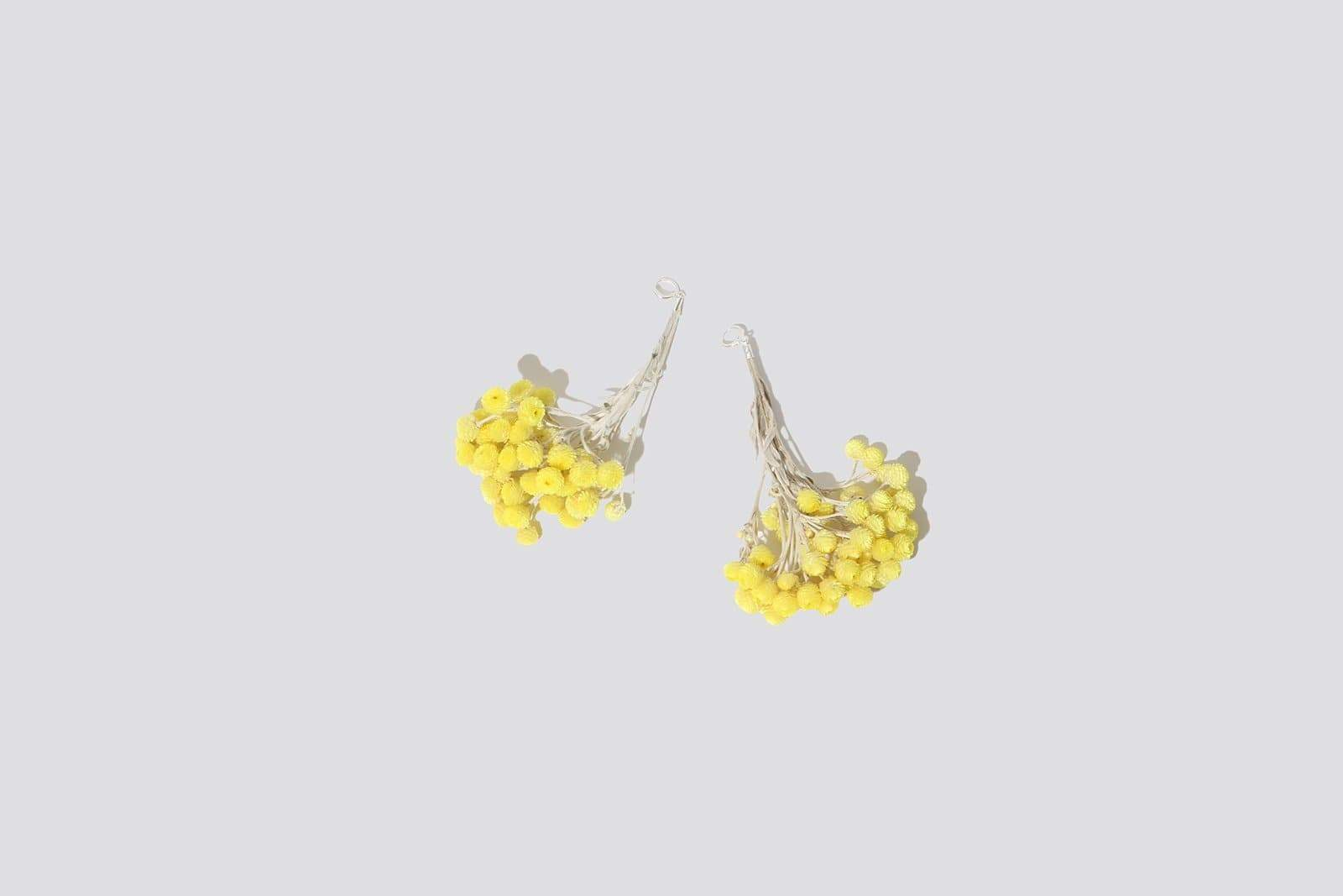Immortelle Flower Earring - MAIMOUN
