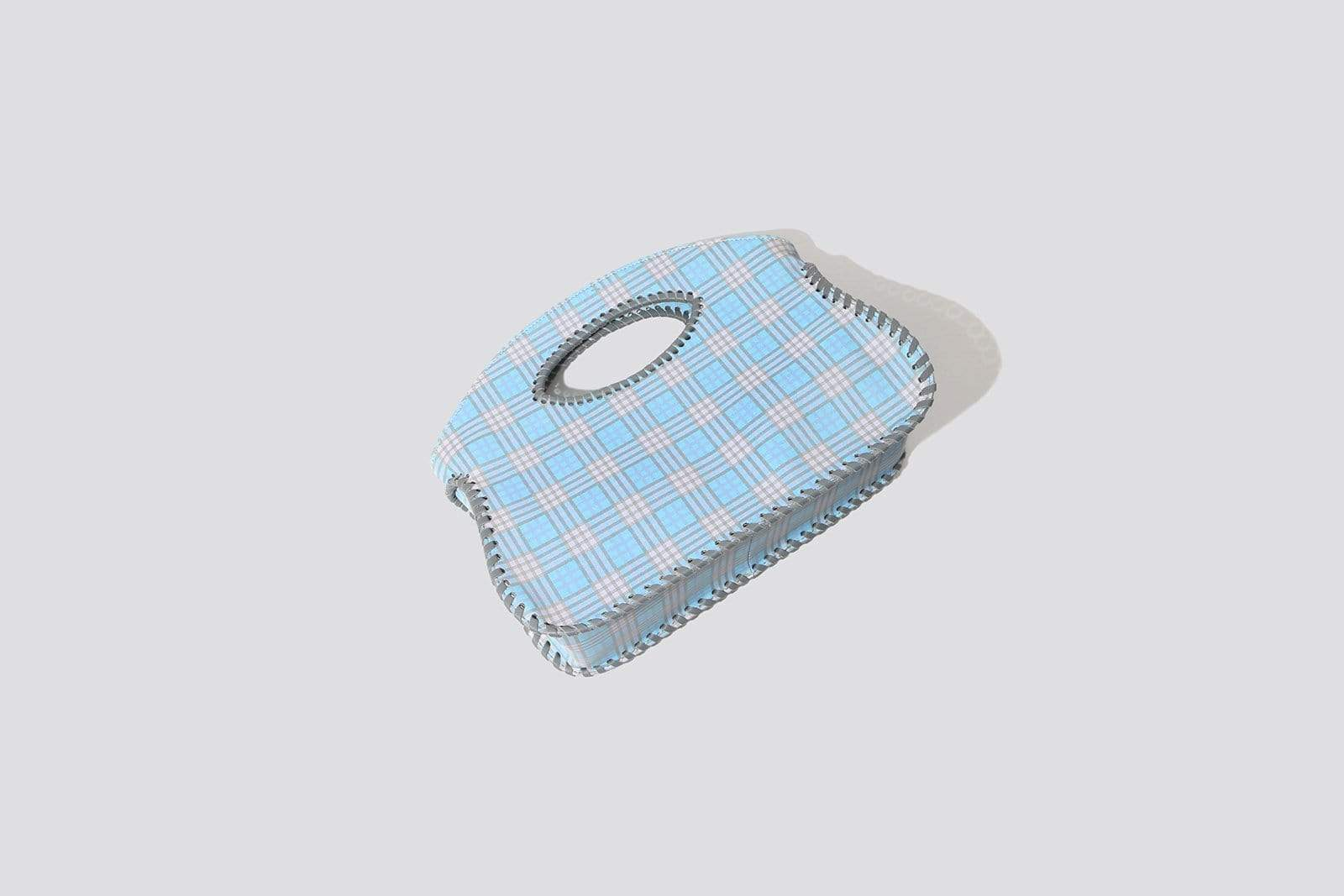 Plaid Enzo Purse - MAIMOUN