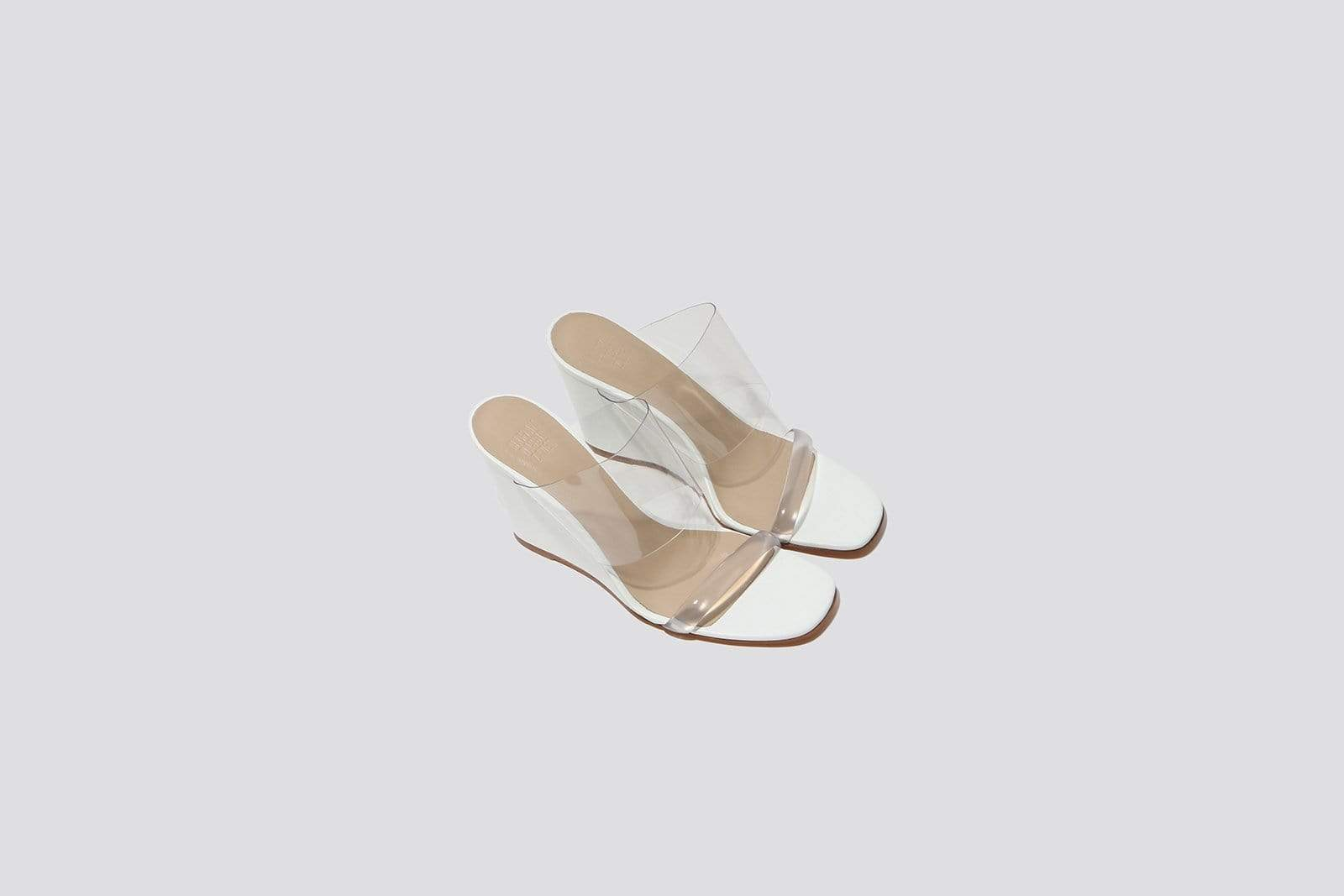 White Olympia Wedge - MAIMOUN
