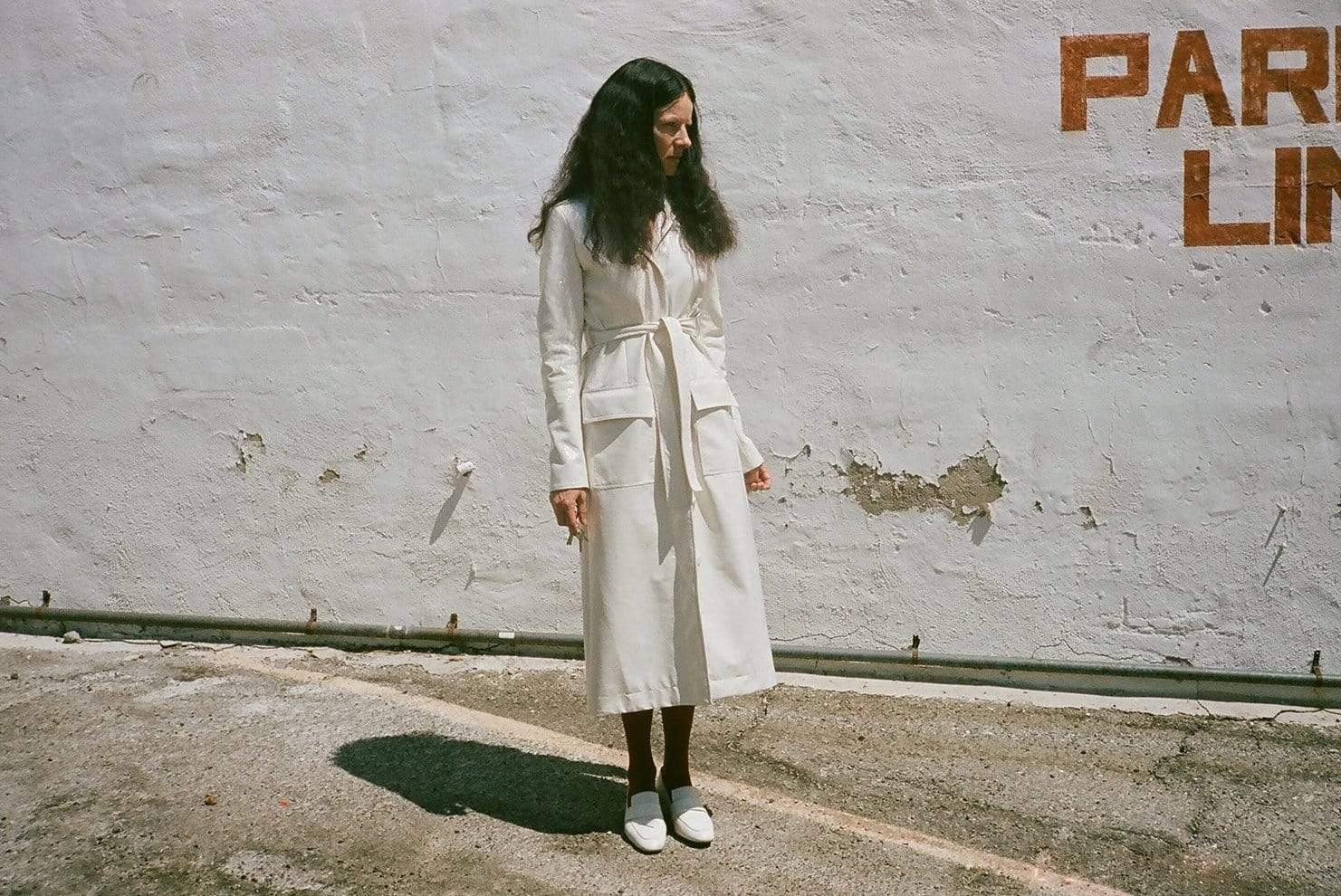 Cream Trench Coat - MAIMOUN