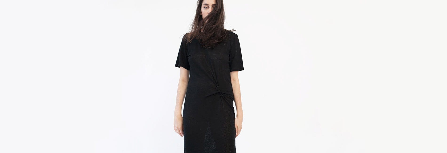 Twist Tee Dress - MAIMOUN
