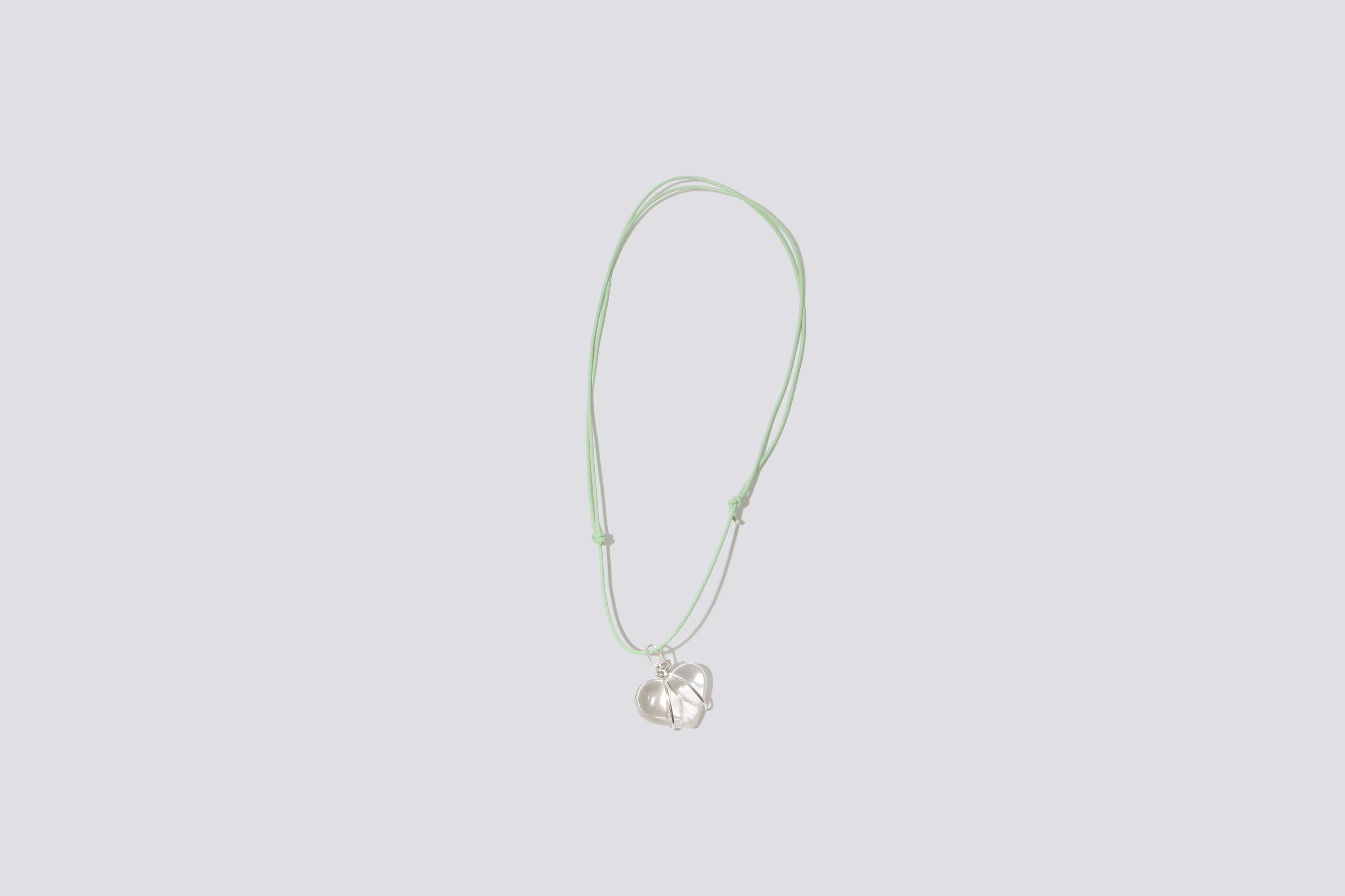 Maimoun Odyssey Mint Sweetheart Necklace