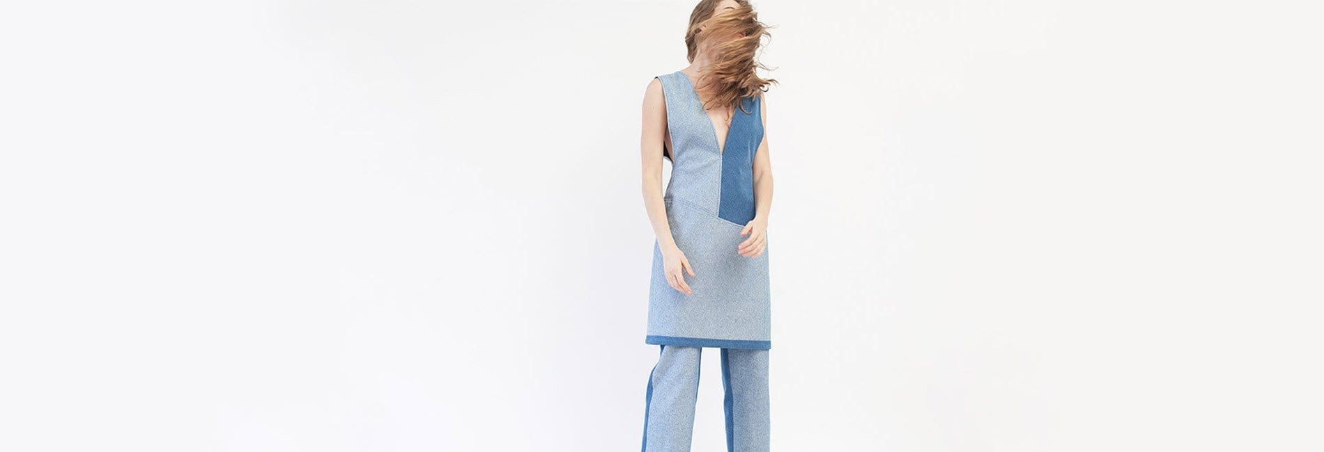 Colorblock Shift Dress - MAIMOUN