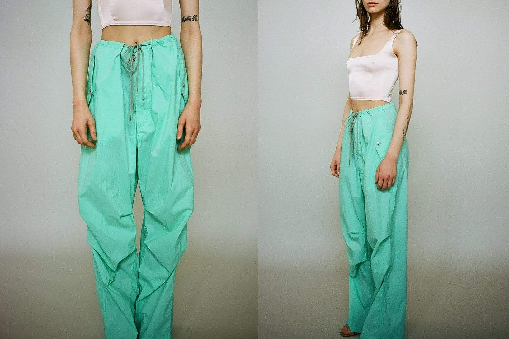 Spearmint Rainwear Pants - MAIMOUN