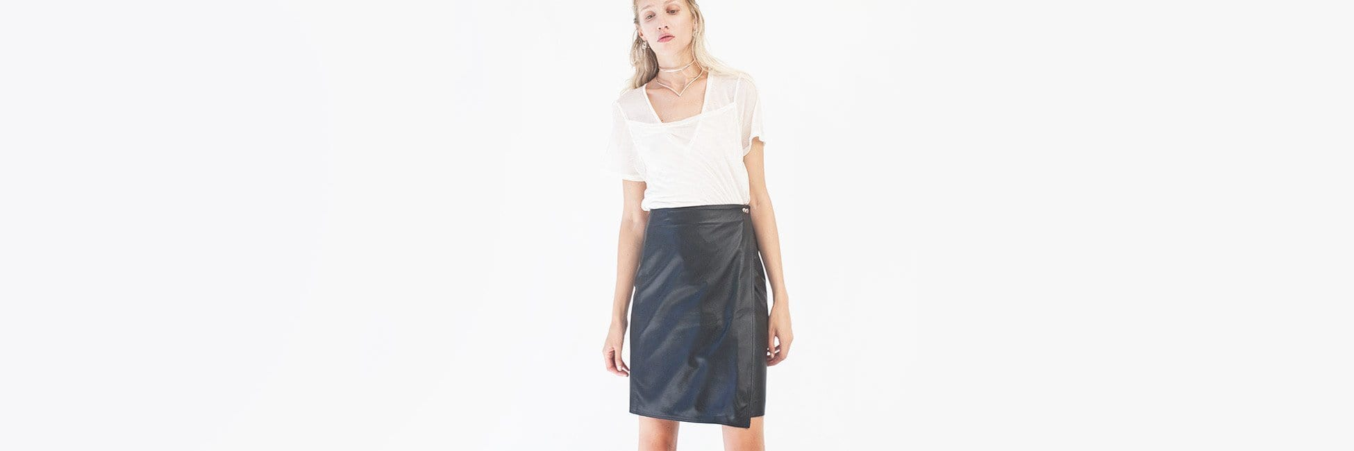 At Land Wrap Skirt - MAIMOUN