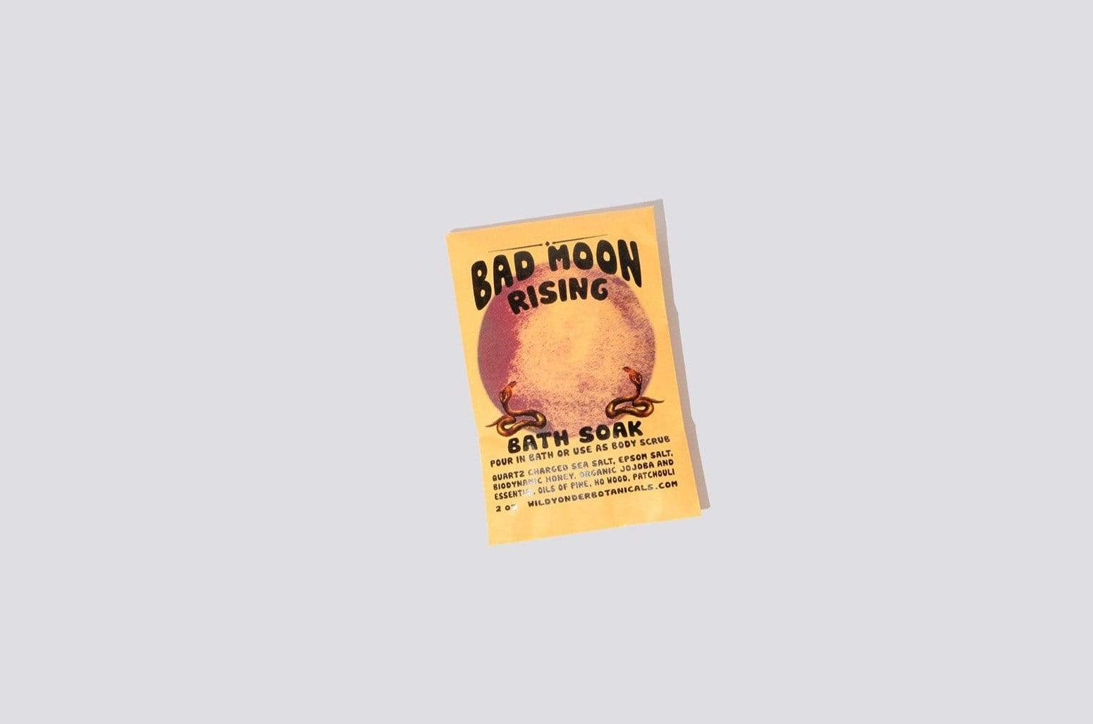 Bad Moon Rising Bath Soaks - MAIMOUN