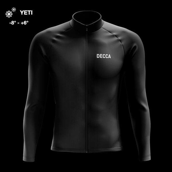 Race YETI Jacket L/S Black