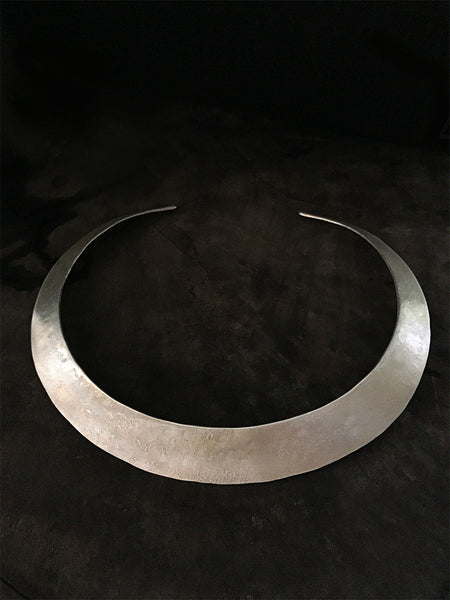 Silver Mumeri Neck Piece