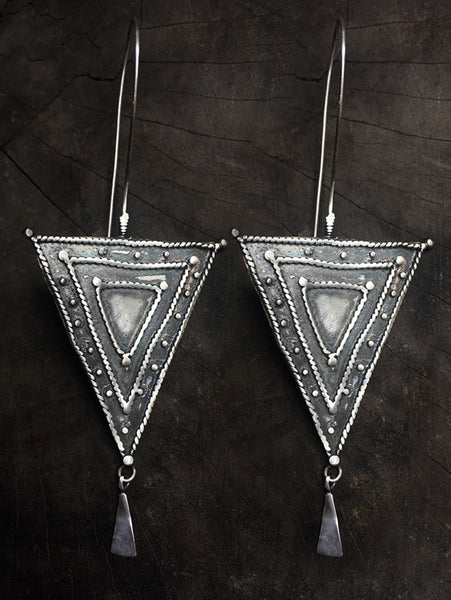 Maprik Triangle Earrings