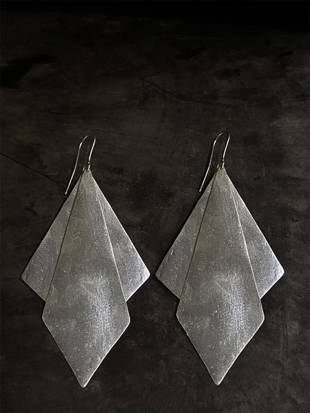 Silver Sentani Earrings