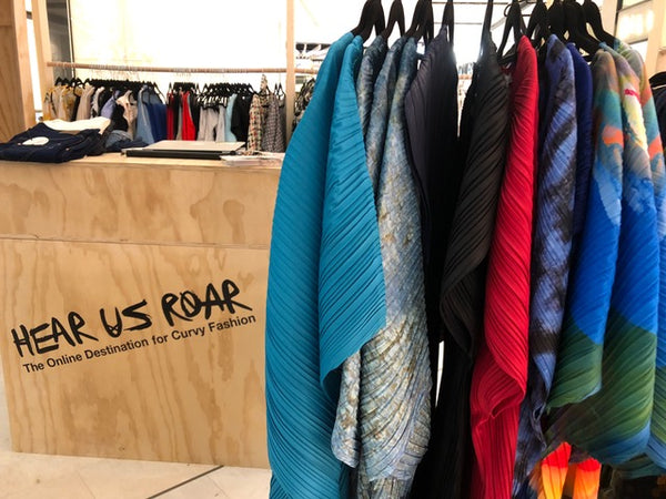 Coral &Co teaming with Australian On-Line Curve Retailer Hear Us Roar for a Pop-Up Shop