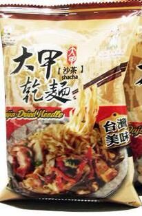 Djs Dry Noodle Shacha Sauce Flavor Single pack  沙茶