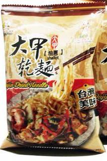 Djs Dry Noodle shallot Sauce Flavor Single pack 蔥油