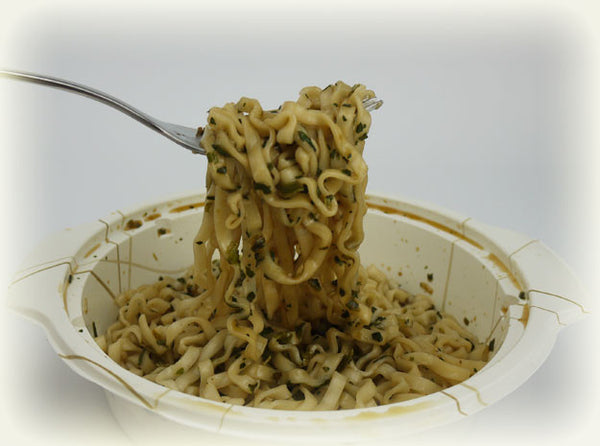 Djs Dry Noodle Hot And Spicy Sauce With Dried Allium Flavor Microwave Bowl 辣麻醬