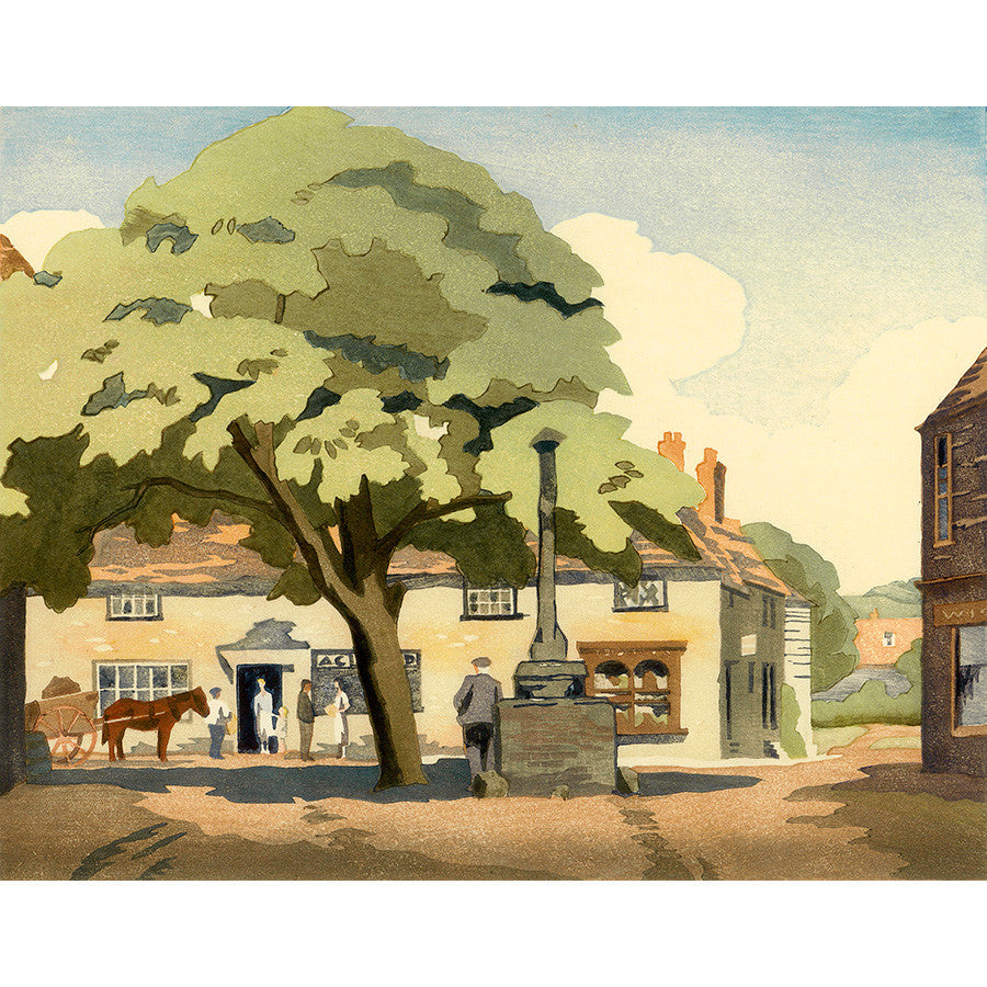 Alfriston 1935 By Eric Slater