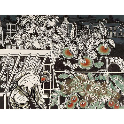 Autumn By Edward Bawden