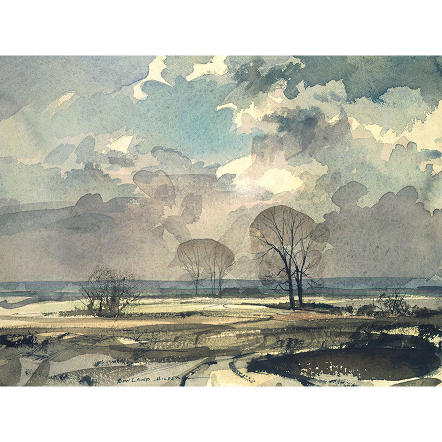 A February Day By Rowland Hilder