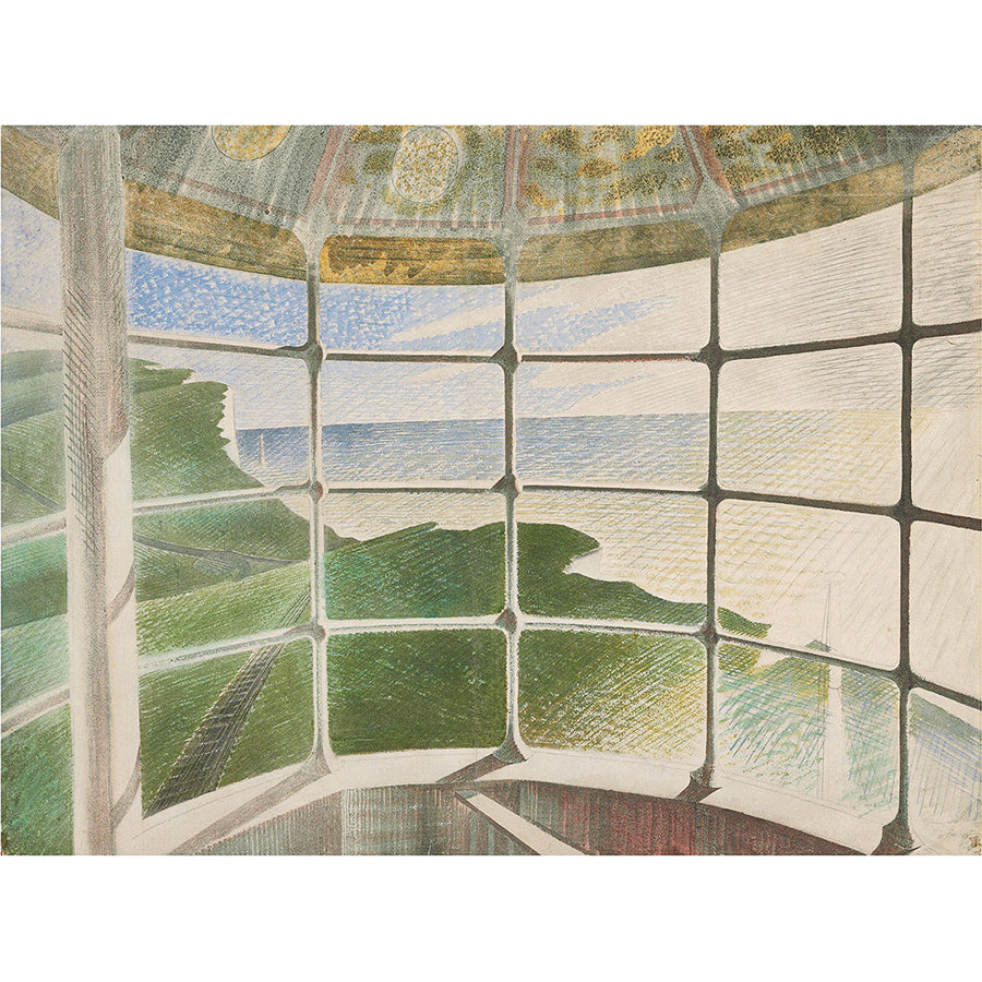 Beachy Head Lighthouse - Belle Tout By Eric Ravilious