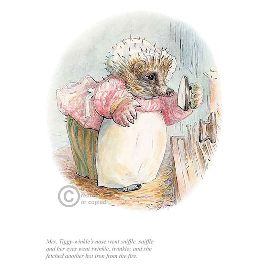 Mrs Tiggy Winkle Went Sniffle, Sniffle By Beatrix Potter