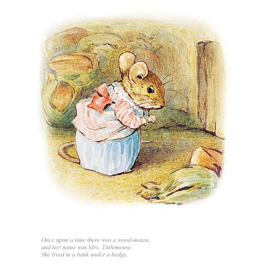 Mrs Tittlemouse By Beatrix Potter