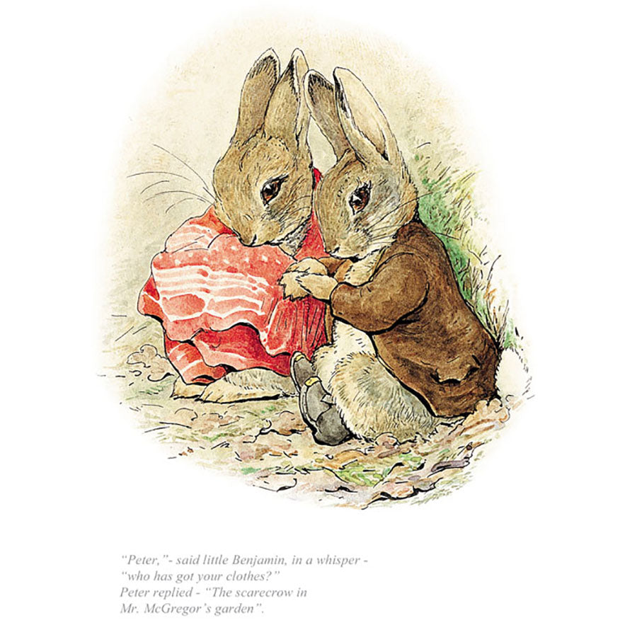 Peter, Who Has Got Your Clothes? By Beatrix Potter