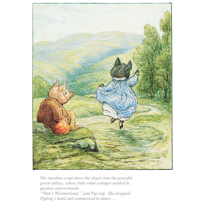 That's Westmoorland Said Pig Wig By Beatrix Potter