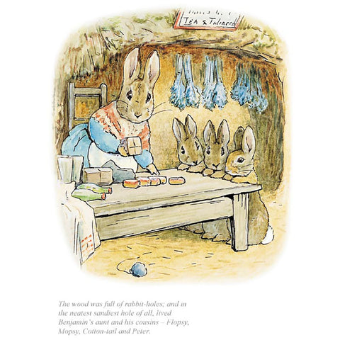 The Neatest Sandiest Rabbit Hole Of All By Beatrix Potter