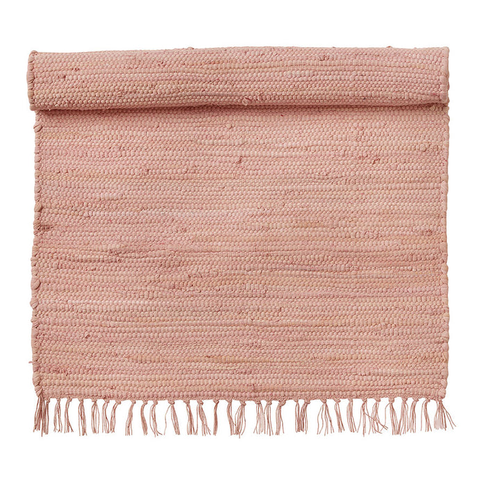 Recycled Blush Cotton Rug