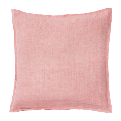 Blush Cotton Linen Cushion