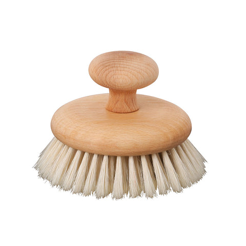 Round Wooden Body Brush