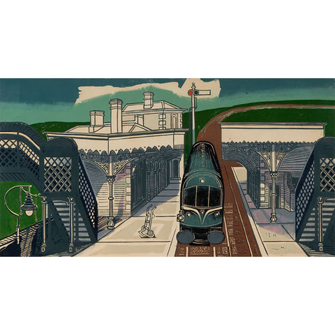 Braintree Station By Edward Bawden