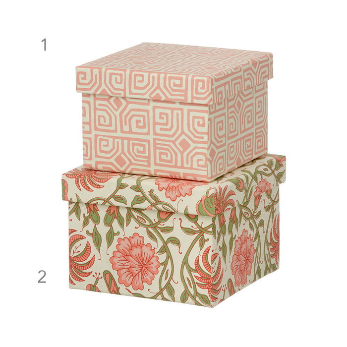 Thilla Old Rose Cubic Boxes