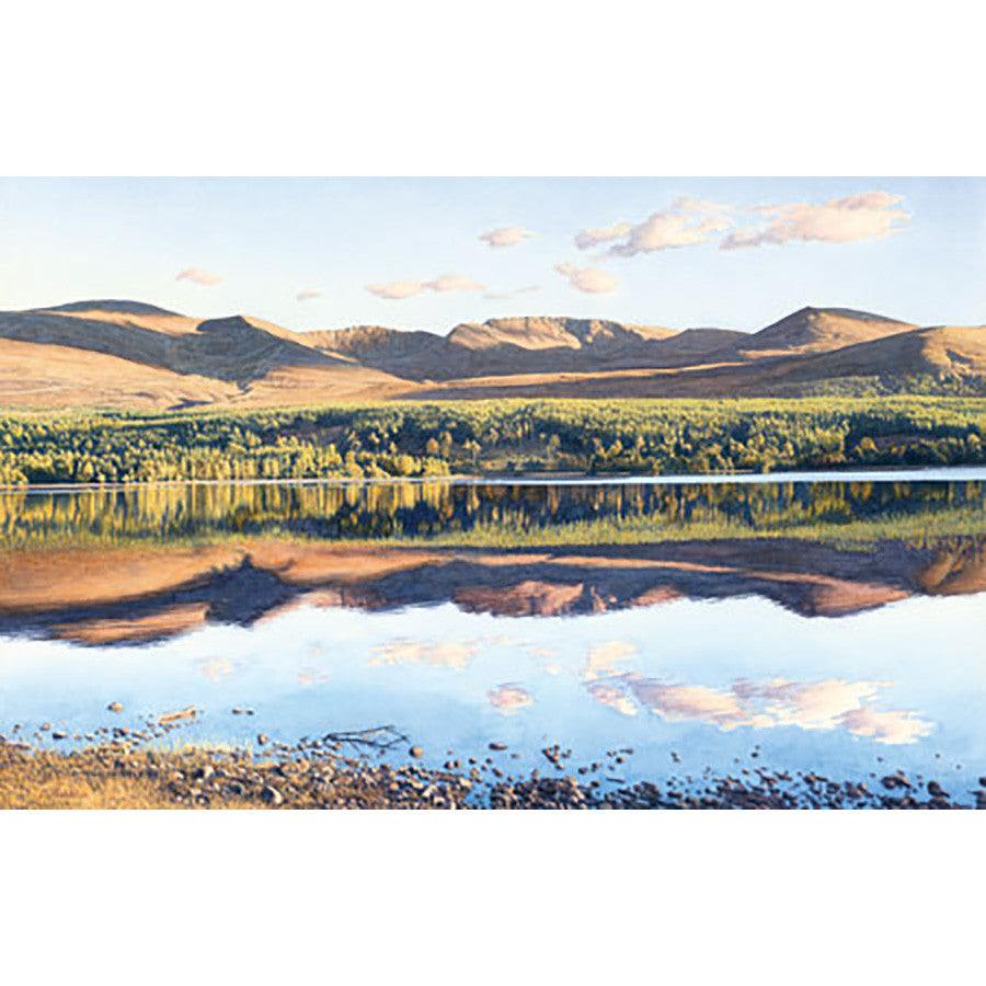 Caledonian Reflection By Michael Embden