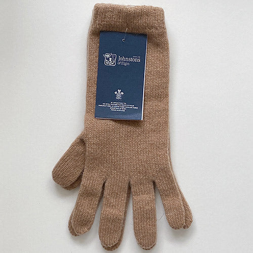 Women's Cashmere Gloves in Beige