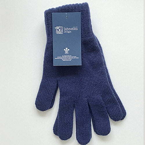 Men's Cashmere Gloves in Navy